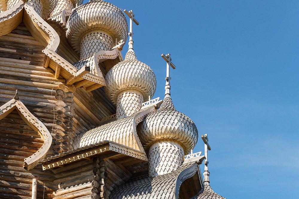 Высота церкви — 41 метр, почти как двенадцатиэтажный дом. Источник: Игорь Георгиевский