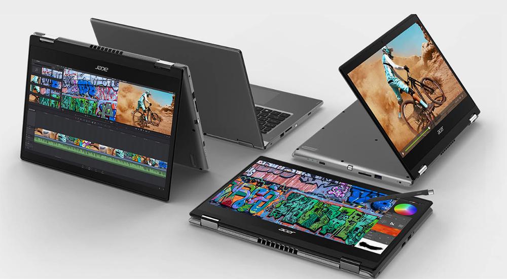 Так выглядит ноутбук-трансформер от Acer