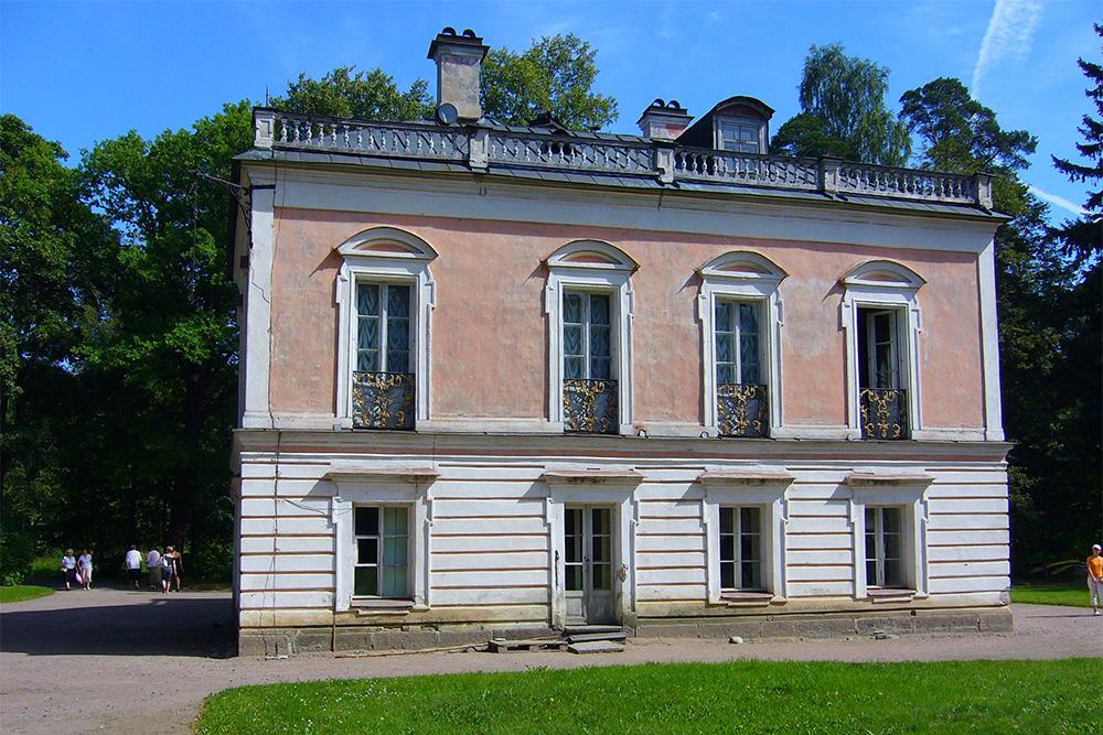 Если не знать, что это дворец Петра Третьего, пройдешь мимо и не обратишь внимания