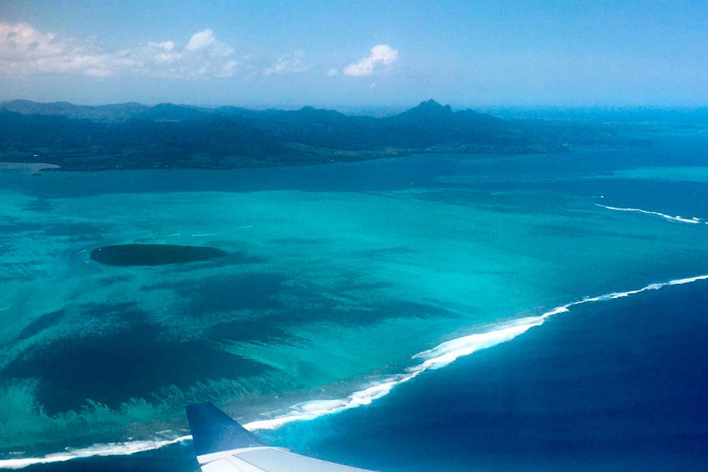 Берите место у иллюминатора: Маврикий с высоты птичьего полета смотрится потрясающе