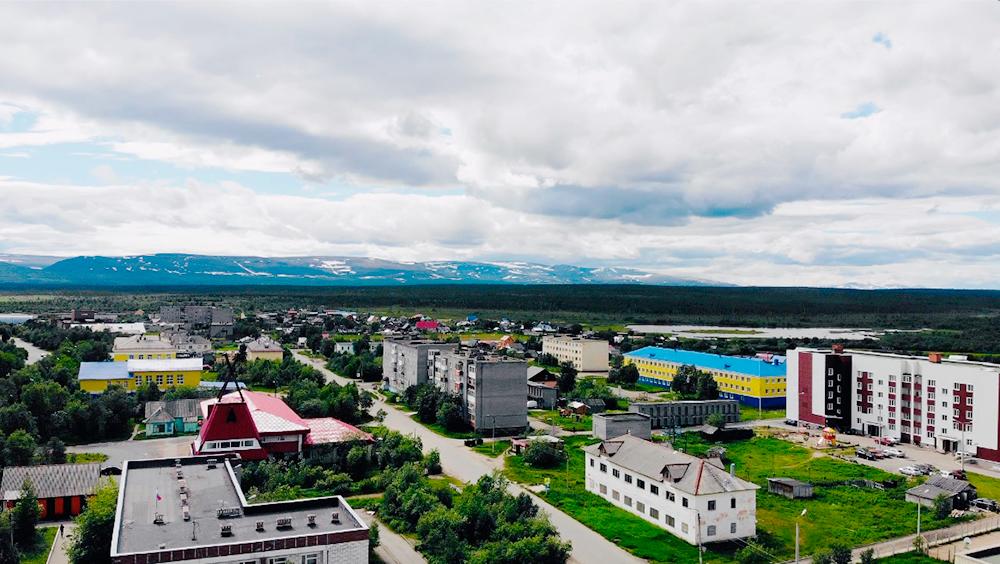Этноцентр в Ловозере построен в виде чума. У саамов такое жилище называется «вежа»