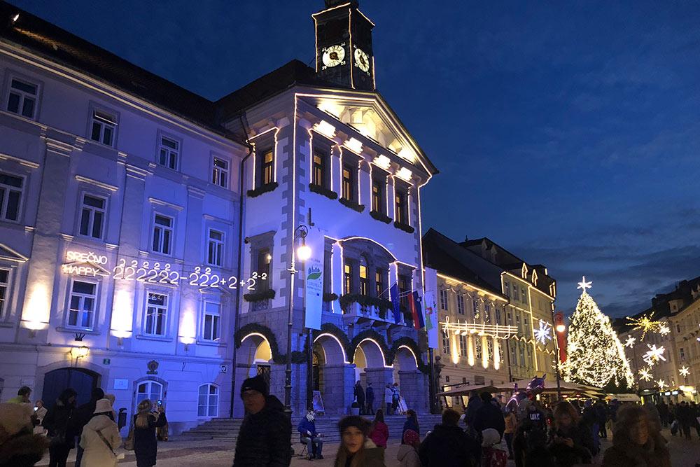 В декабре в Любляне уютно, и даже толпы туристов не портят впечатление