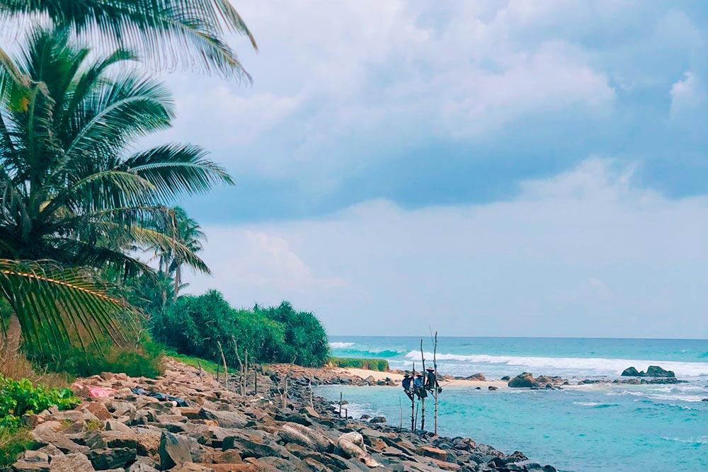 Знаменитые ланкийские рыбаки между Велигамой и Мириссой