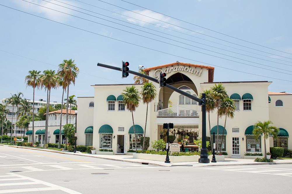 Улицы города во Флориде, название которого я не помню. Там тихо, спокойно и очень чисто