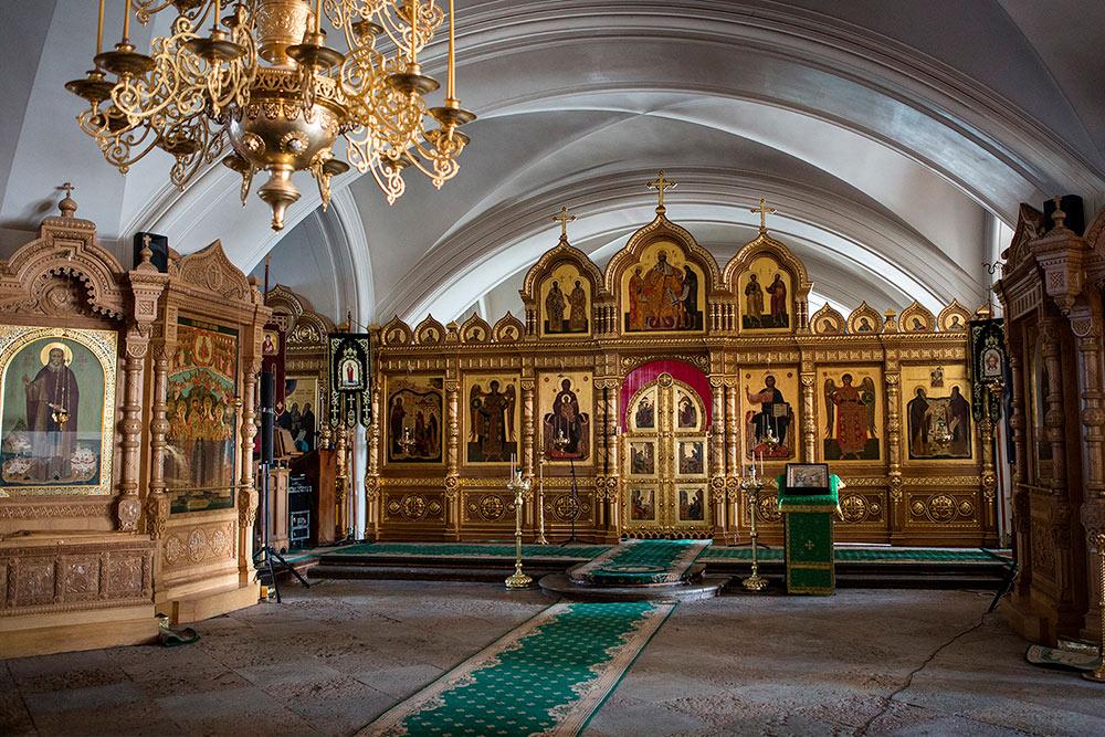 Это нижний храм Спасо-Преображенского собора. Фото: tourism.karelia.ru