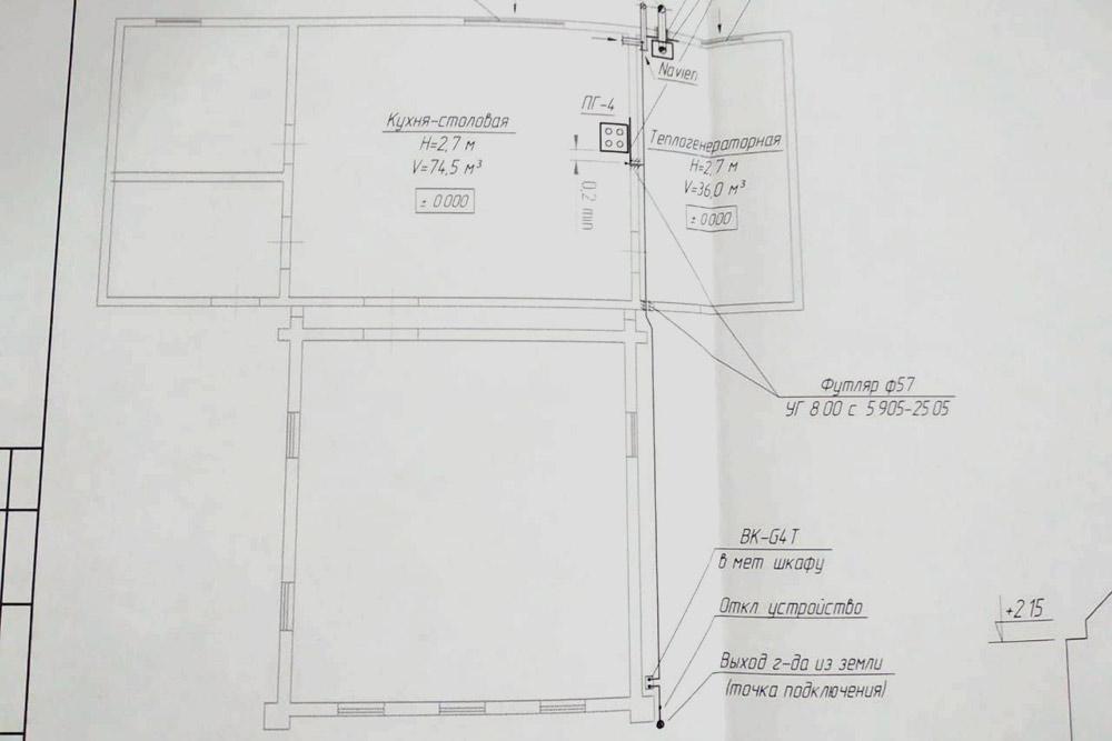 Теперь унас стало свободнее — появилась отдельная теплогенераторная, отапливаемые прихожая, санузел икухня-столовая площадью больше 20м²