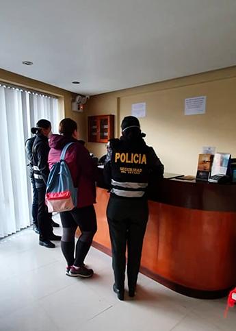 В наш отель в Куско приходила полиция, проверяла документы у всех постояльцев