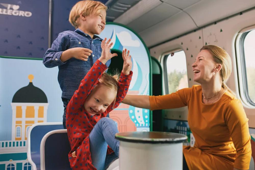 Детская комната в поезде «Аллегро»