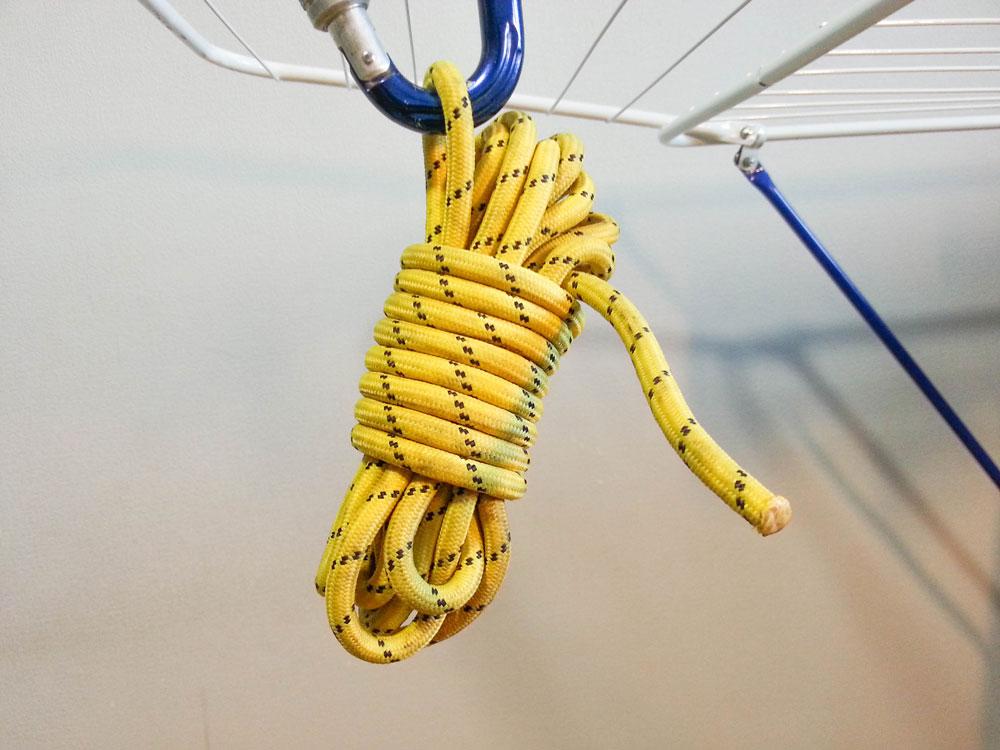 Репшнур — веревка для вспомогательных целей — например, из нее делают лестницу. Страховать репшнуром нельзя
