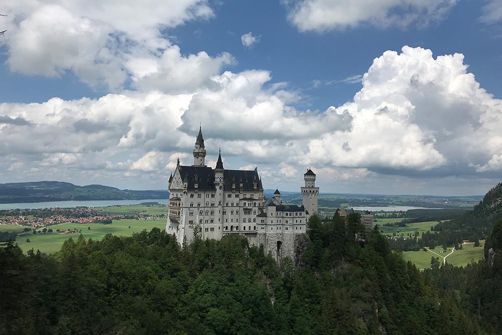 Ради таких видов я и поехала в Германию