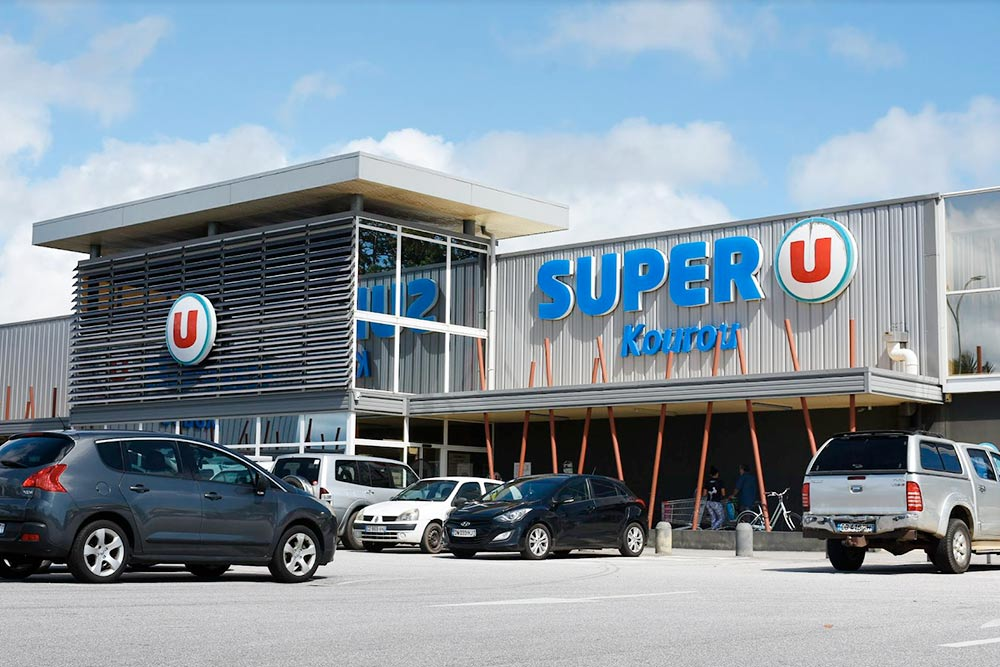 Супермаркет «СуперЮ» в Куру