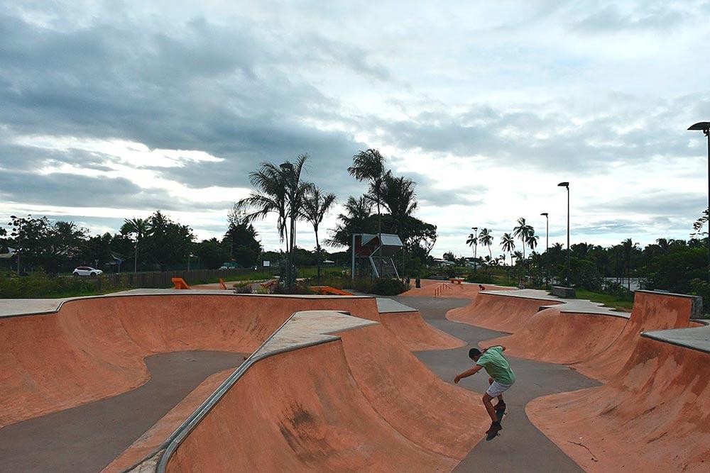Скейт-парк вКуру