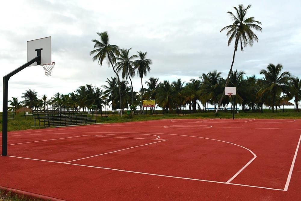 Новые баскетбольные площадки