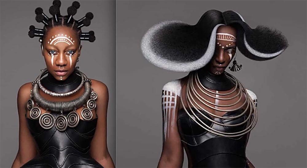 Работы со всемирного конкурса British hair awards выглядят очень эффектно, но на такие прически мало кто согласится даже длясветского мероприятия. Фото: storyfox.ru