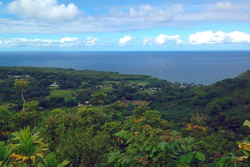 Вот так выглядит Мауи сХана-хайвей насеверной стороне острова