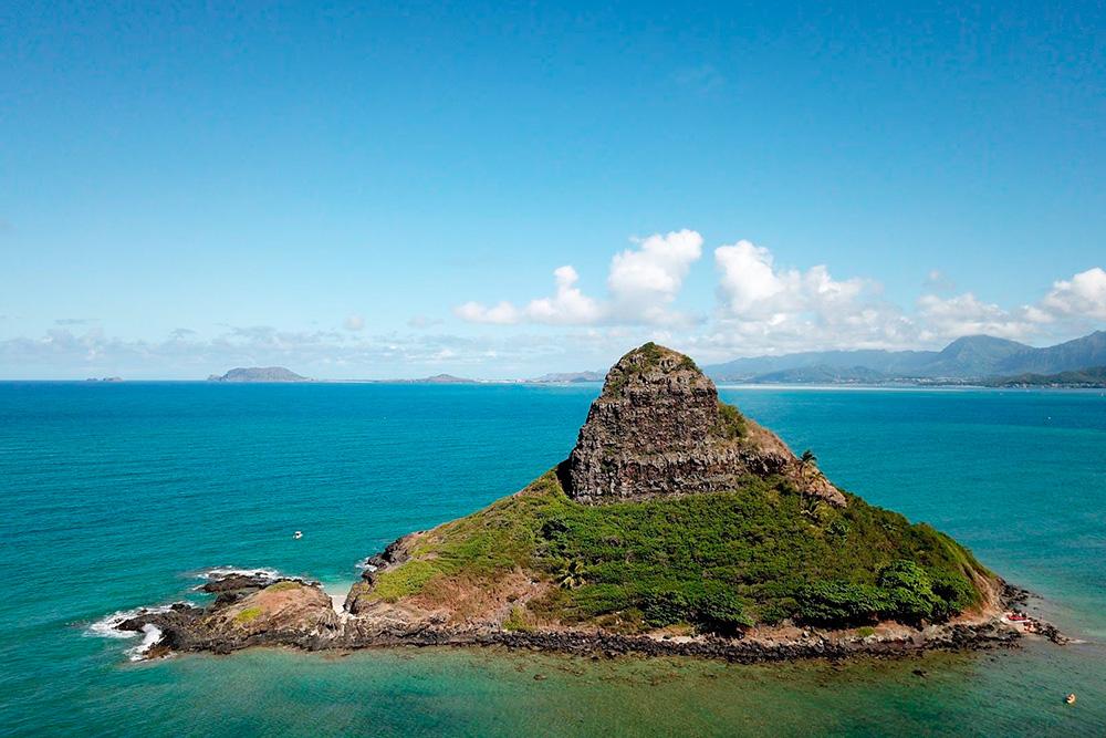 Остров Чайнамэнс-Хэт — «азиатская шляпа» — называется так совершенно неслучайно