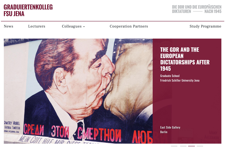 Это страница нашей коллегиальной программы. На фото часть Берлинской стены с изображением братского поцелуя Леонида Брежнева и лидера ГДР Эриха Хонеккера — символ крепкой дружбы СССР и Восточной Германии