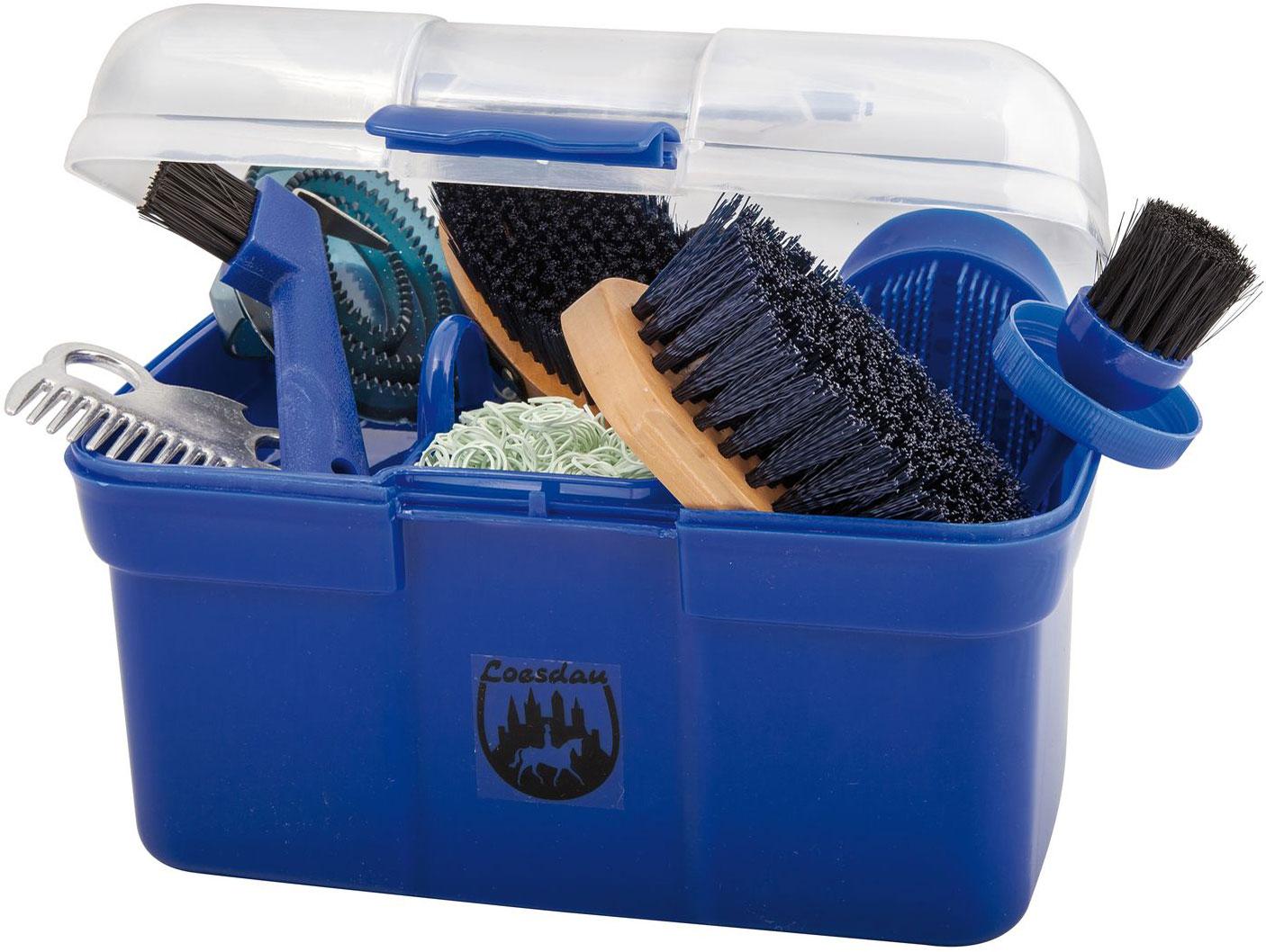 Ящик для принадлежностей. Вместо него можно купить большой пластиковый контейнер. 1000—3000<span class=ruble>Р</span>. Источник: new-best-horse.com