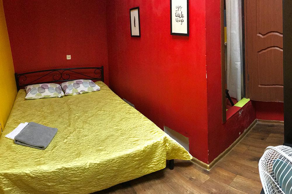 Двухместная комната с душем, но безокна