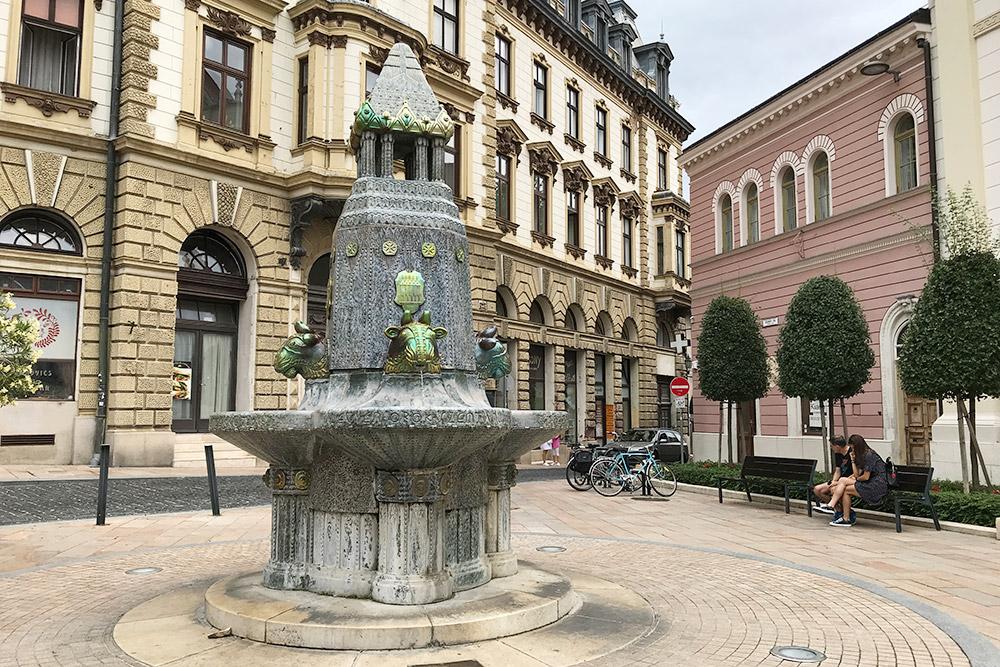Печ — очень старый город, ноархитектура здесь восновном 18—19 веков