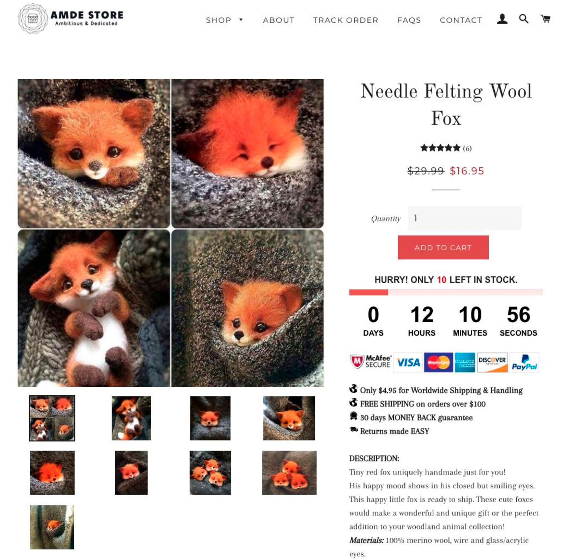 Сайт мошенников, которые украли фотографии работ