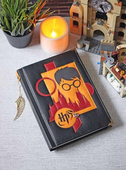 Блокнот в переплете помотивам книг оГарри Поттере