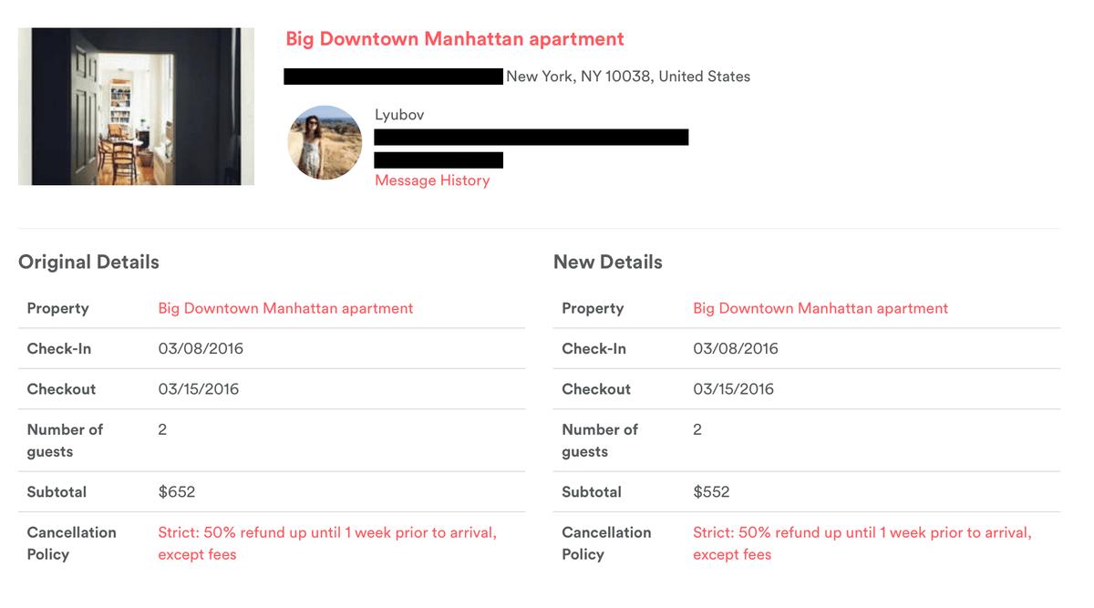 Запросить деньги у хозяина квартиры можно в разделе «Поездки»