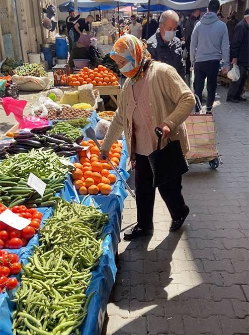 На турецком рынке