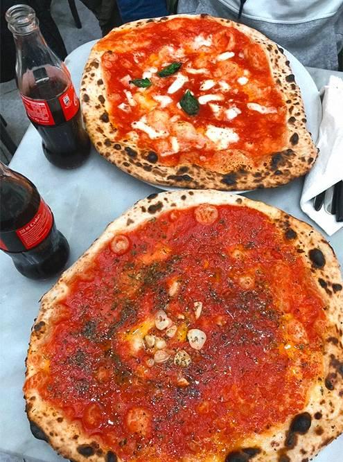 «Маринара» и «Маргарита» в самой популярной пиццерии города — L'Antica Pizzeria da Michele