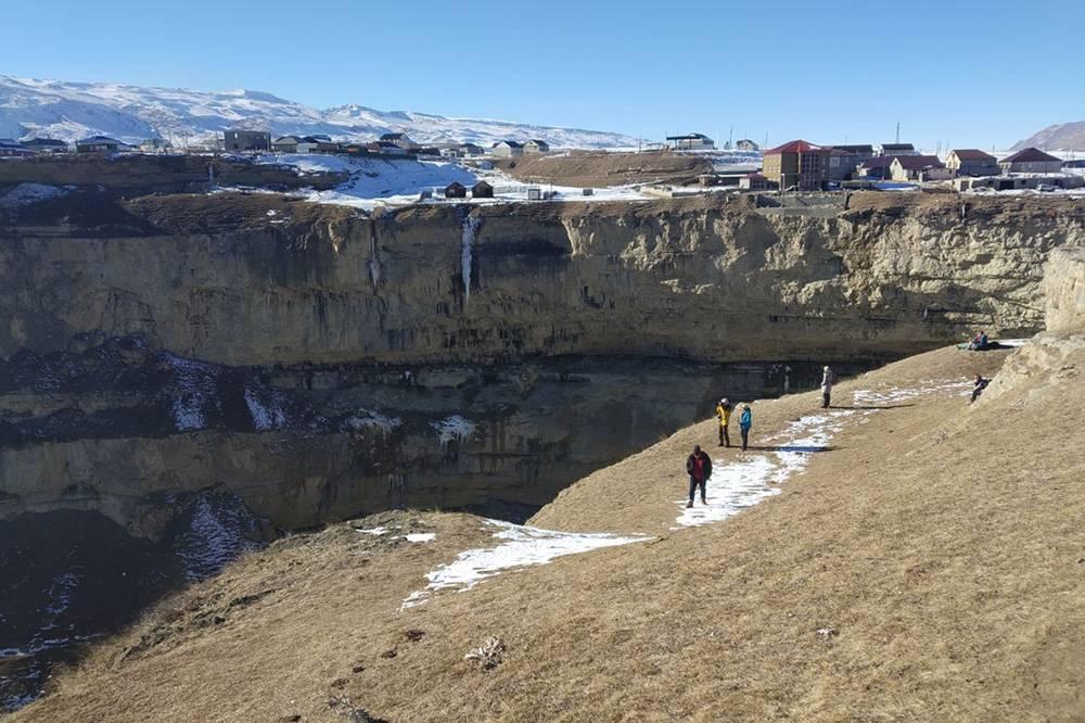 Один из каньонов в Дагестане