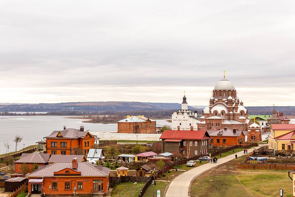 Сейчас в Свияжске проживает не больше 300 человек