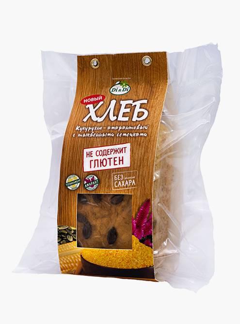 Безглютеновый хлеб почти в шесть раз дороже. Цена: 215<span class=ruble>Р</span>