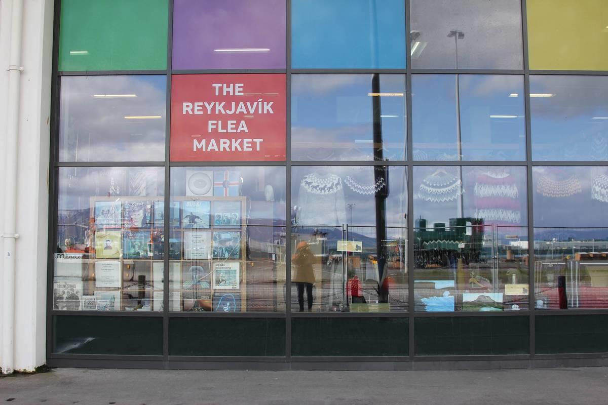 Блошиный рынок «Колапортис» в центре Рейкьявика