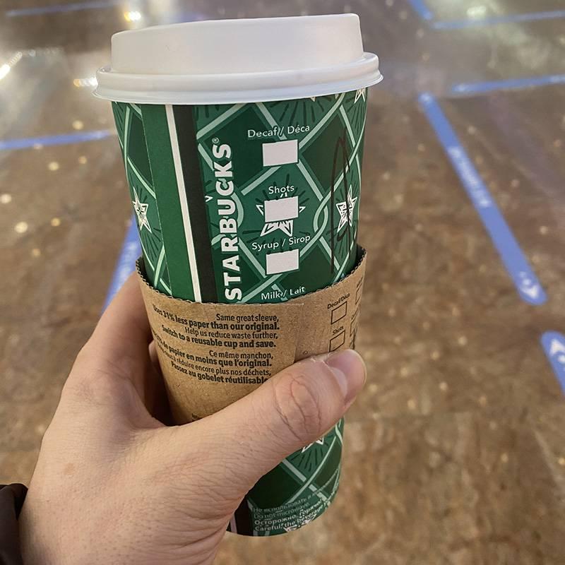 Купил кофе в «Старбаксе»