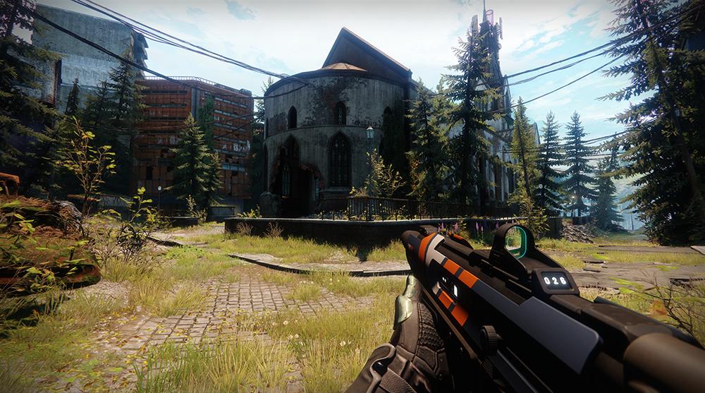 Угол обзора — 105градусов. Игра — Destiny 2. Источник: nvidia.com
