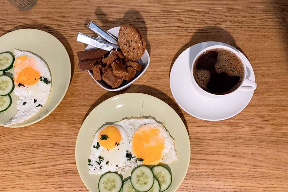 Холостяцкий завтрак
