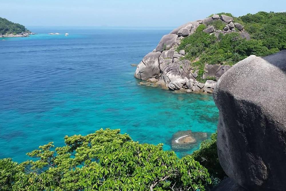 Первозданная природа Симиланских островов