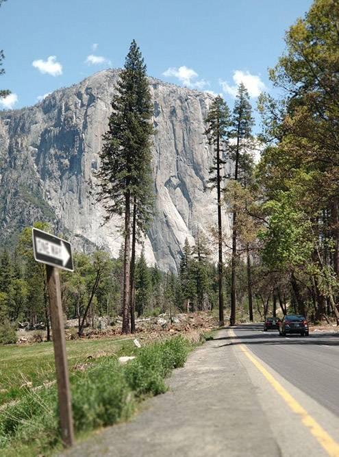 В долину Йосемити ведет множество дорог. Ежегодно сюда приезжает более 3,5млн туристов, но парк не кажется переполненным