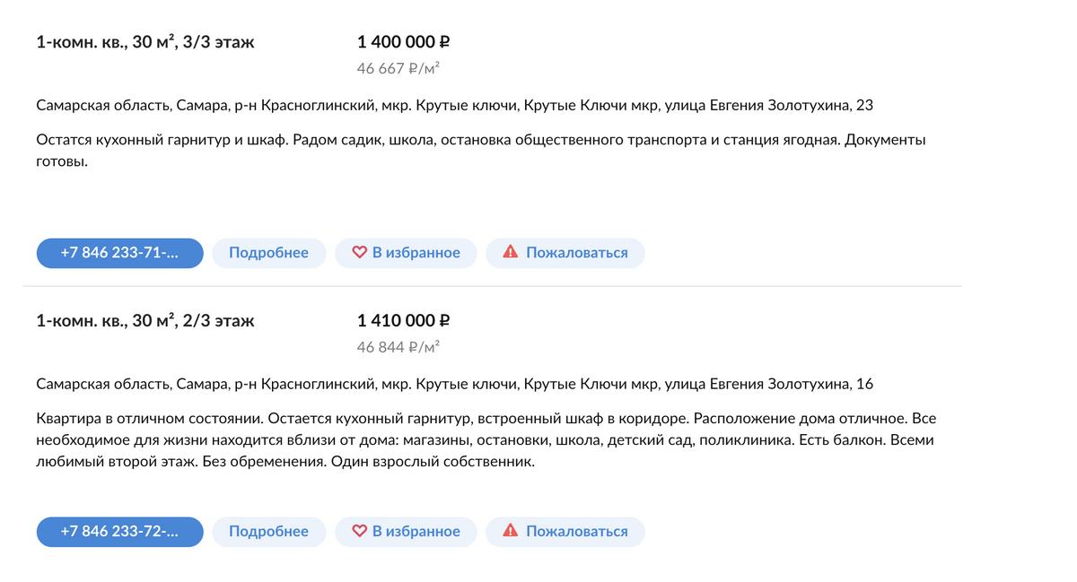 Готовые квартиры в «Кошелев-проекте» перепродают в среднем за 1,4 млн рублей, цена квадратного метра — 44 000—47 000<span class=ruble>Р</span>