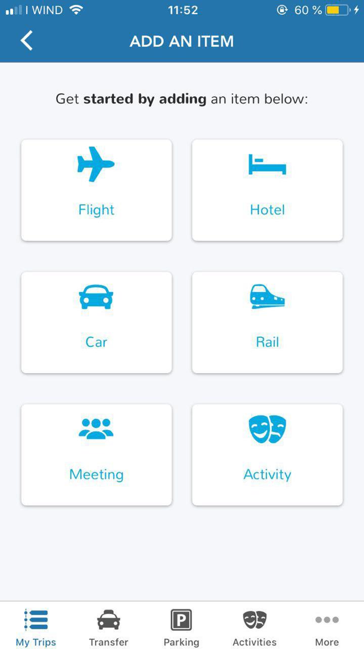 Я загрузила в приложение все данные о моей поездке