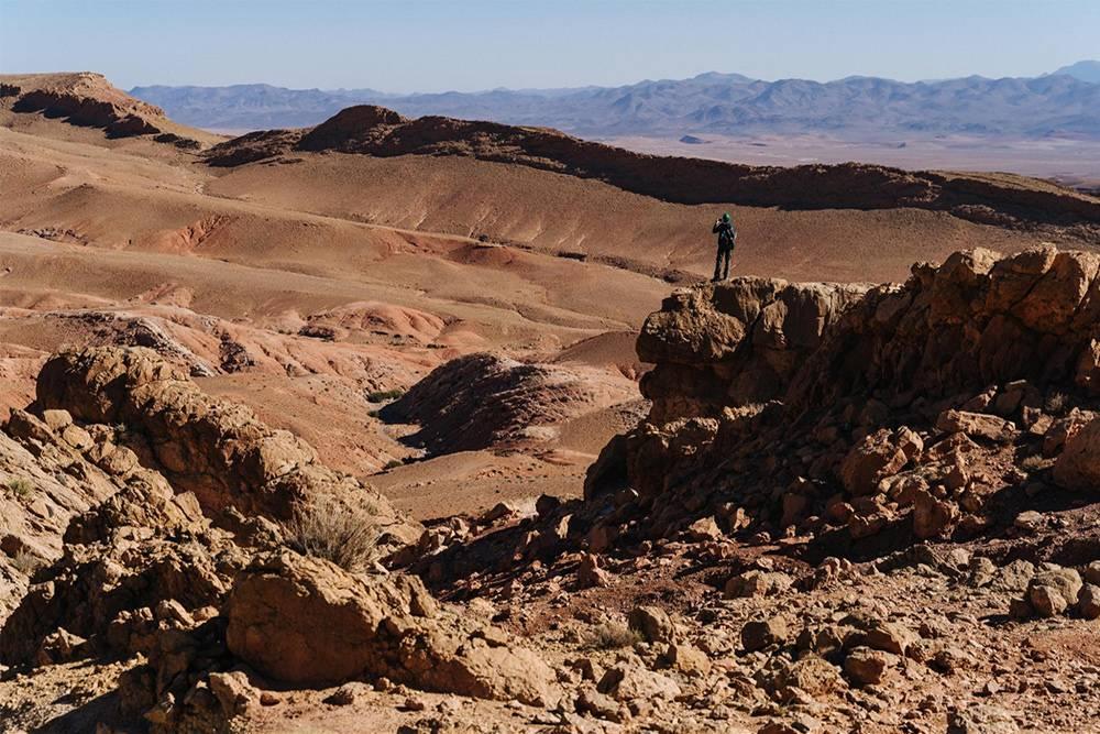 Марсианские пейзажи в Марокко