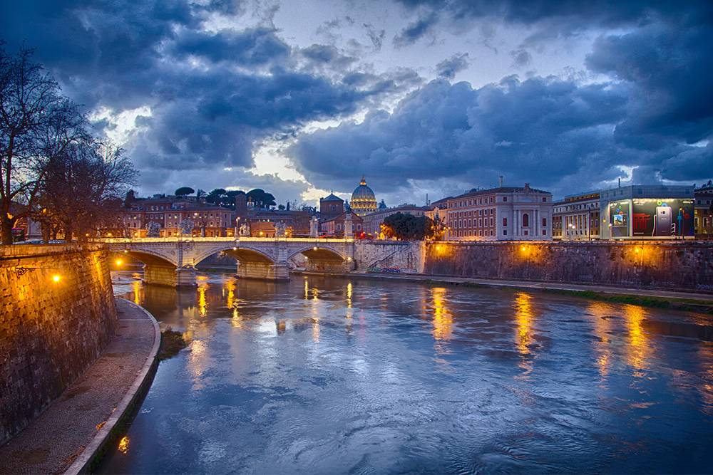 Центр Рима маленький — удобно передвигаться пешком
