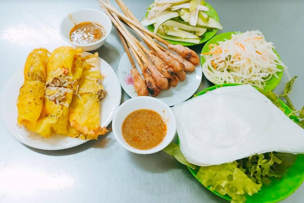 Блинчики бань сео и нем луи. Все блюда вьетнамцы подают с необычными соусами