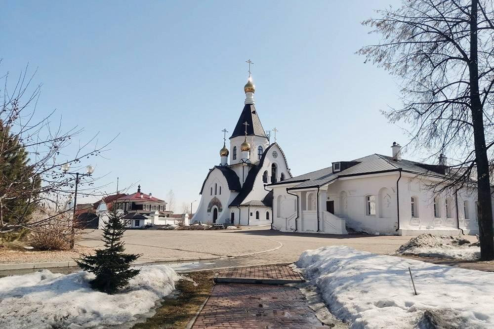 Так выглядит главный храм Свято-Успенского мужского монастыря, который освятили в честь иконы Божией Матери «Всецарица»