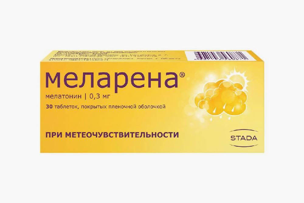 Препарат с&nbsp;мелатонином. Цена: 150<span class=ruble>Р</span>. Источник: «Асна»