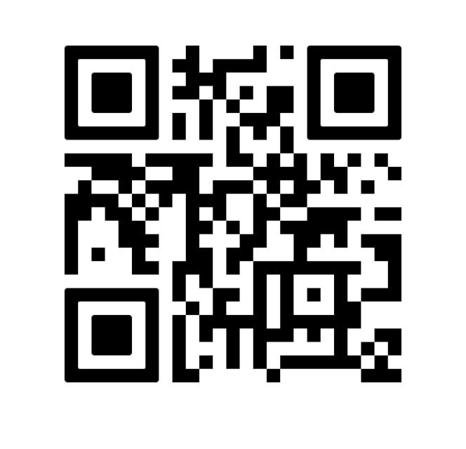 Пример QR-кода. Он может быть в виде распечатанной картинки, наклейки или отображаться на экране приложения