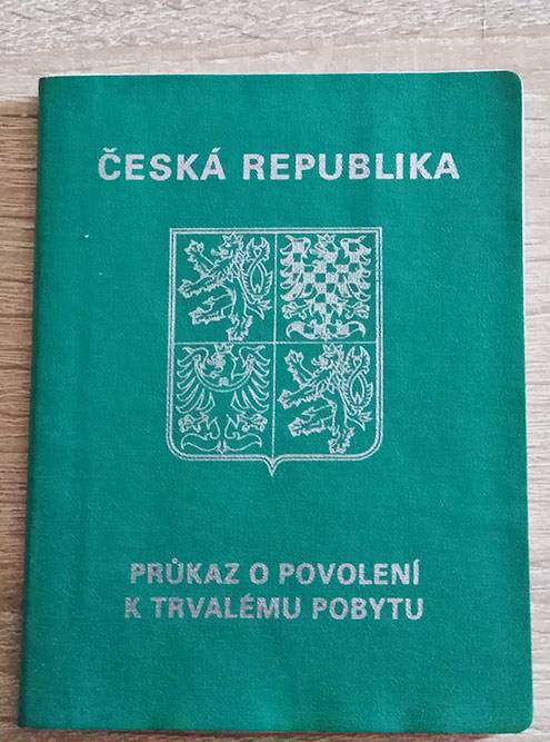 Так выглядит подтверждение вида на жительство в Чехии