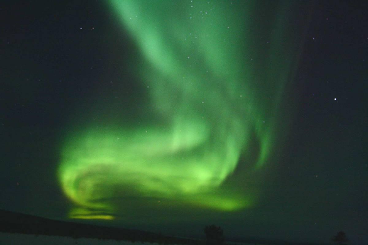 Северное сияние — главная природная достопримечательность Швеции. Источник: Chris Geatch / Flickr