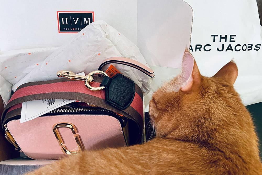 Пока писался этот дневник, закрыла последнюю хотелку из своего летнего вишлиста — купила сумку «Снапшот» от «Марк Джейкобс»