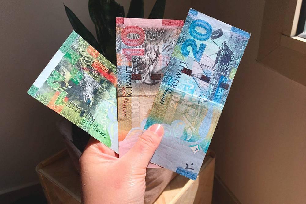 Кувейтские банкноты